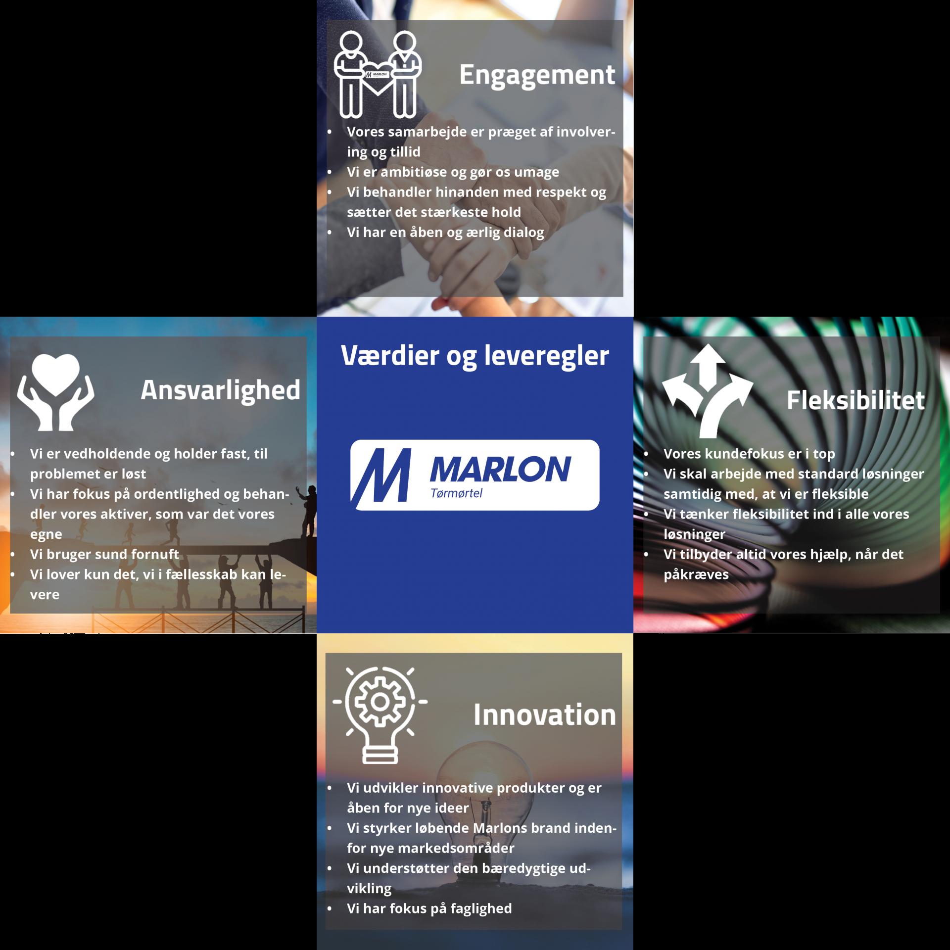 Marlon - Værdier og leveregler