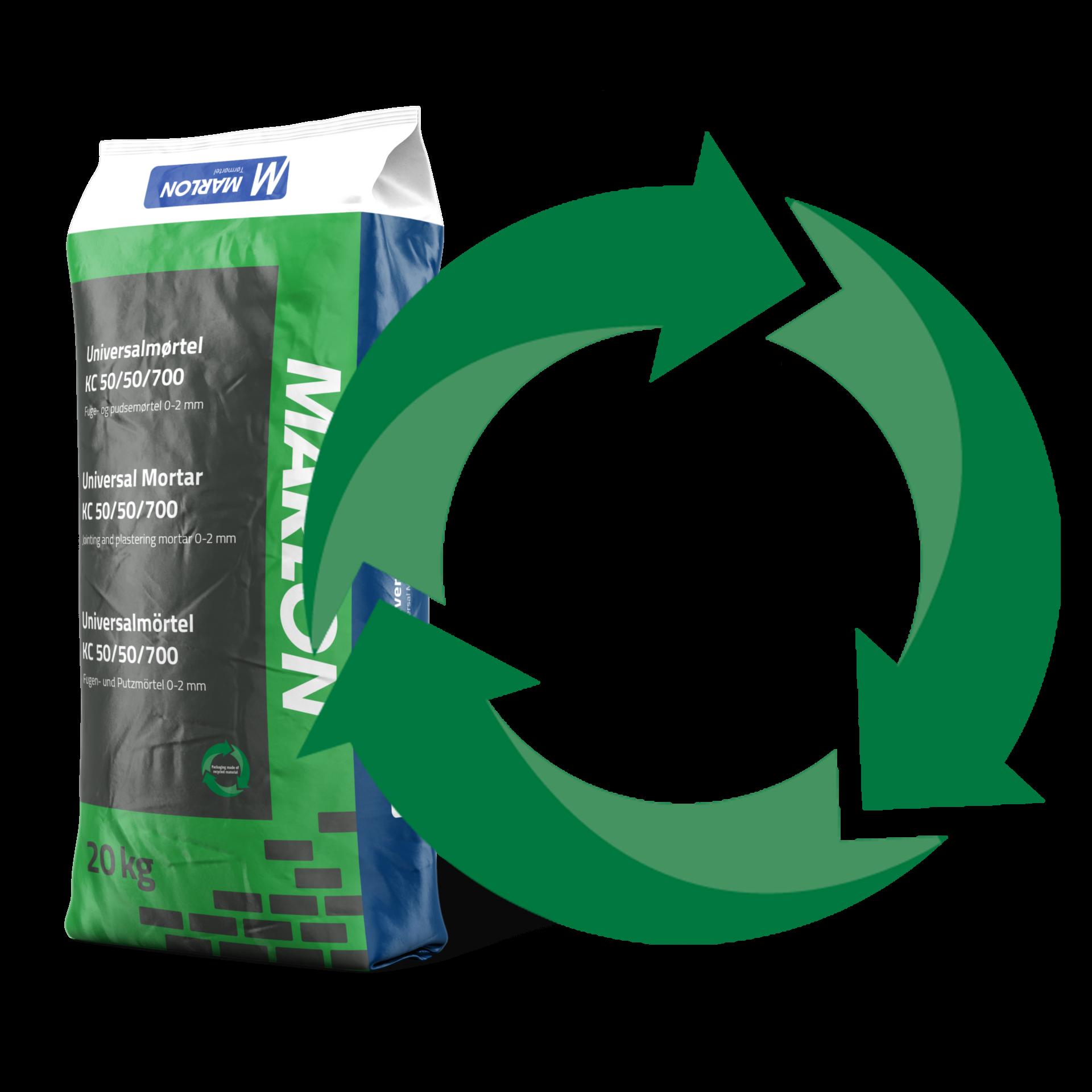 Marlon - Vi benytter genbrugsplast – for miljøets skyld