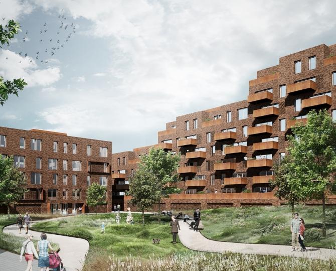Søborg Møbelfabrik - boliger og erhverv